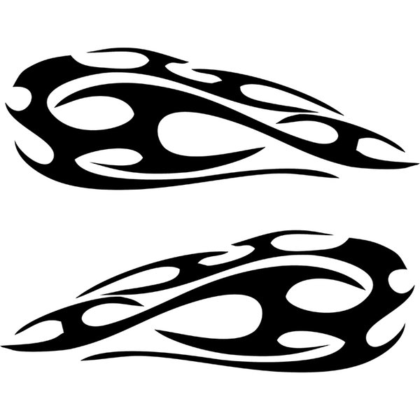 2019 30 10 3cm Motorcycle Gas Tank Badge Flame Decal Sticker Graphics Marathon Runners Motorcycle Vinyl Decals From Xymy767 13 47 Dhgate Com
