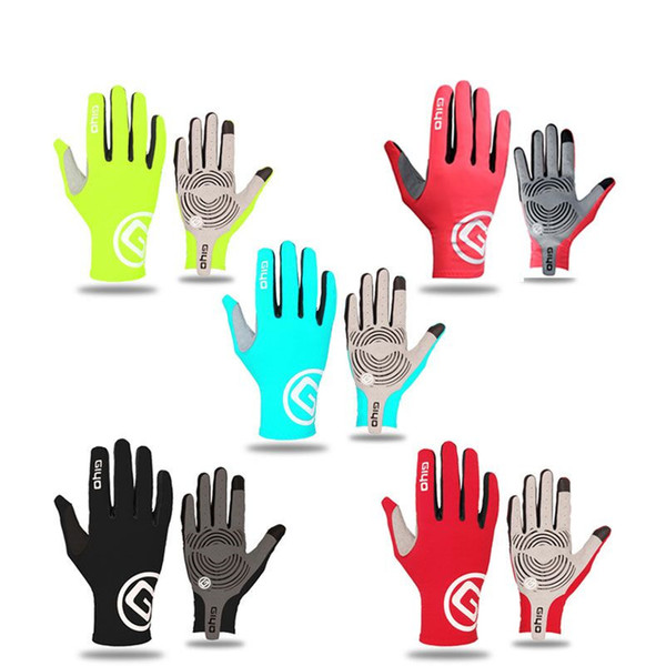 Breathable Cycling Gloves Touch Screen Anti Slip Gel Pad Road Bike Full Finger Gloves Windproof Bicycle MTB Bikes Gloves