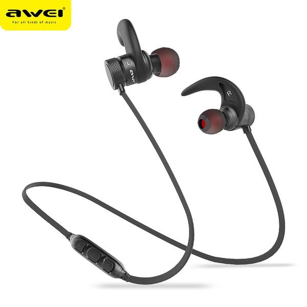 AWEI A920BLS Bluetooth Headphone Wireless Earphone Sport Headset Waterproof Earbuds Earpiece Auriculares Kulakl k Casque 10h