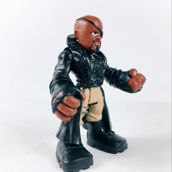 2.5/'/' Marvel Super Hero Squad Adventures Action Figure Hasbro PlaySkool Toys