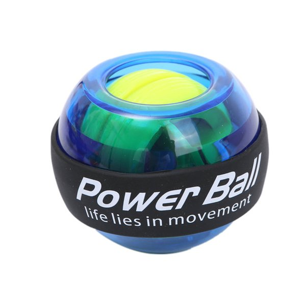 2pcs Trainer Relax Gyroscope Ball High Quality Wrist Muscle Power Ball Gyro Arm Exerciser Strengthener LED Fitness Equipments