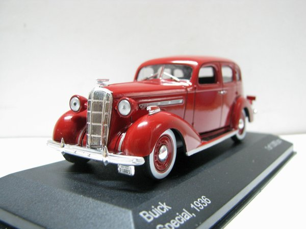 White Box 1:43 Buick Special 1936 boutique alloy car toys for children kids toys Model Original box freeshipping