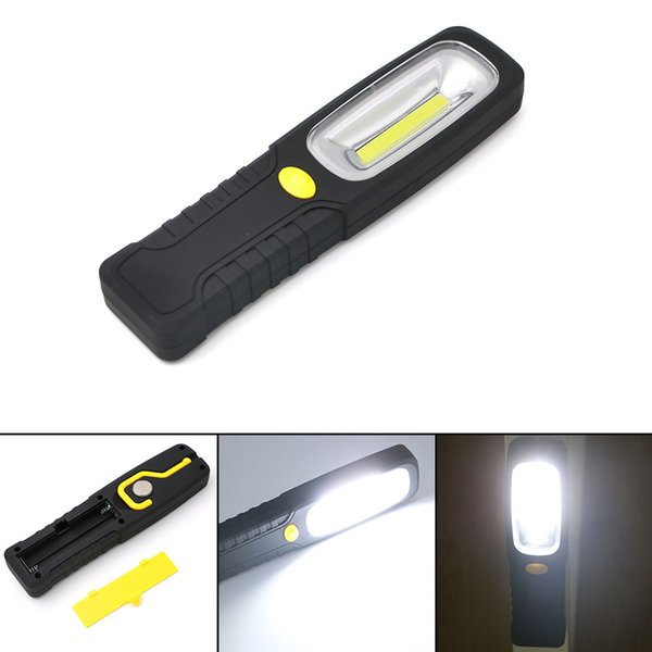 Newest Bright Multifunction COB LED Emergency Work Tent Light LED Work Torch Flashlight With Magnet & Hook Nightlight For Camp Lighting