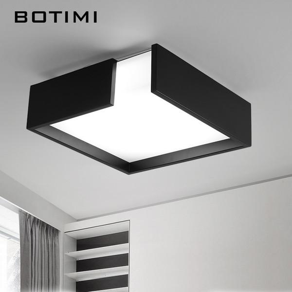 Großhandel BOTIMI Moderne Eisen LED Deckenleuchten Moderne Weiß ...