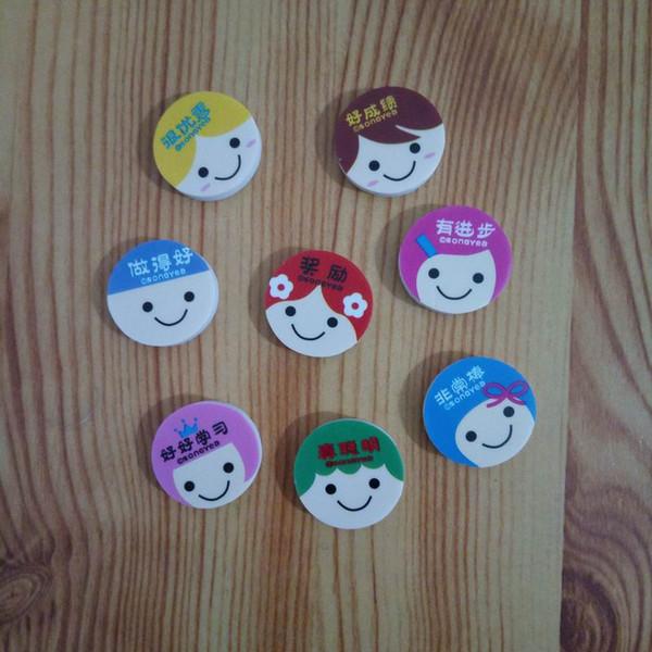 New Lovely Cute Cartoon Kawaii Eraser Rubber Korean Stationery School Supplies Smile Novelty Kid Gifts Fantastic