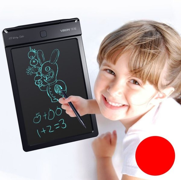 4-Color Drawing Board numérique portable avec tablette écritoire LCD écriture écran + Pen Dessin 9 pouces Tapis Handwriting Dessin jouet pour enfants