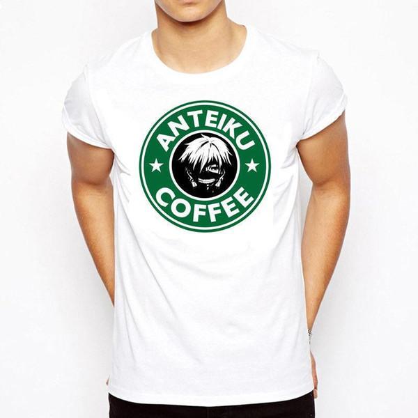 Tokyo Ghoul Anteiku Coffee Shop Ken Kaneki T Shirt Starbucks Mens Womens Anime Offensive Tee Shirts T Shirt A Day From Amesion84 11 37 Dhgate Com