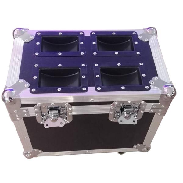 2pcs&flight case bright 60w led moving head spot stage light dmx 512 control 12ch auto/master/slave mode with prism disco light