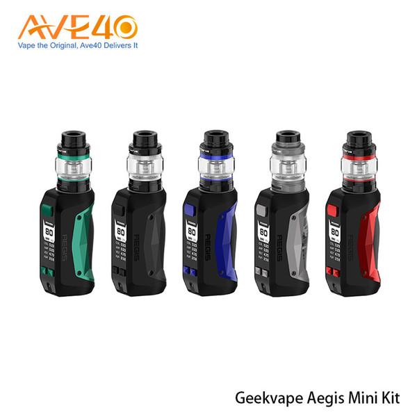 Originale mini kit Geekvape Aegis Sigaretta elettronica Impermeabile 2200mAh 80W Batteria con serbatoio Cerberus da 5,5 ml