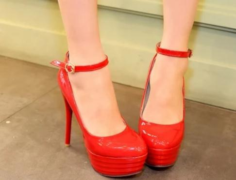 Free send 2014 spring new style fashion Fine heel high heel waterproof table round head women's shoes