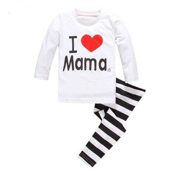 New Kids sets for boys Sleepwear Cotton Pyjamas Babys Clothing Baby Sets Underwear suits kids pajamas Nightwear 2-7y