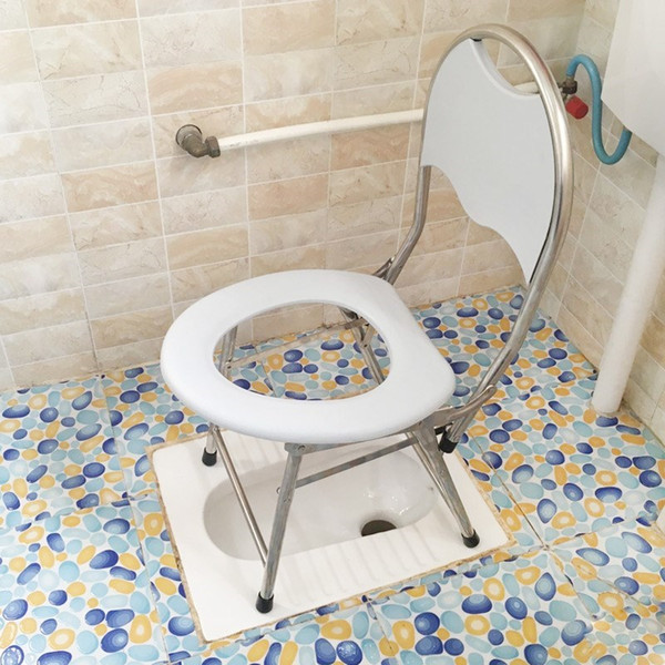 Outstanding 2019 Stainless Steel Multi Function Toilet Seat Padded Toilet Chair Pregnant Woman Patient Mobile Disabled Toilet Elderly Stool From Hengli Zm 11 66 Gmtry Best Dining Table And Chair Ideas Images Gmtryco