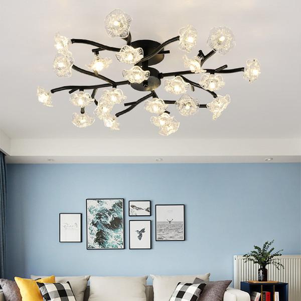 Großhandel Postmoderne LED Kronleuchter Decke Neuheit Loft Beleuchtung  Nordic Leuchten Beleuchtung Wohnzimmer Wohnzimmer Schlafzimmer Lampen Von  ...