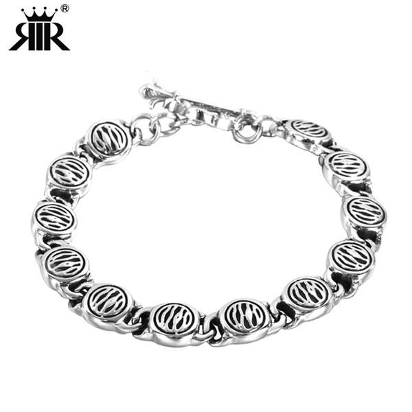 b5a2d35279eb3 2018 Rir Men'S Stainless Steel Best Friend Bracelet Jewelry Viking Black  Power Charm Bracelets Punk Rock Style From Baozii, $38.45 | Dhgate.Com