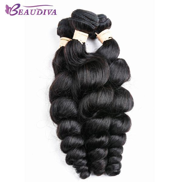 8A Unprocessed Virgin Hair Loose Wave Peruvian Hair Extension 3 Bundles/Lot Free Shipping Human Hair Weaving 8-24inch