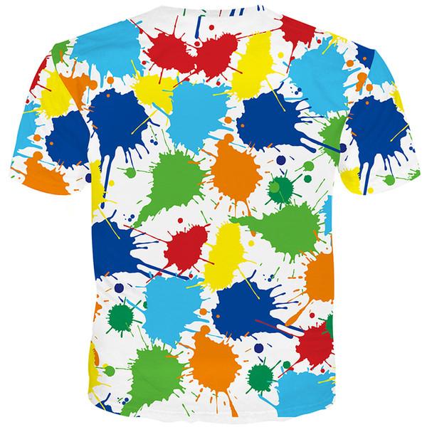Cloudstyle 2018 Nouvelle Arrivée T-shirt Hommes Femmes Drôle Conception 3D Imprimer t-shirt Pigment Fleurs T-shirt Tops T-shirt Streetwear 5XL