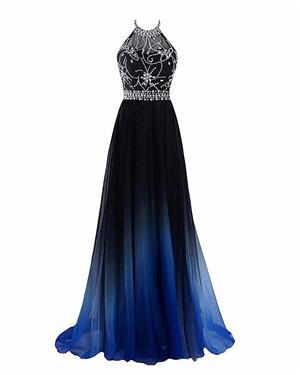 schwarzes Königsblau