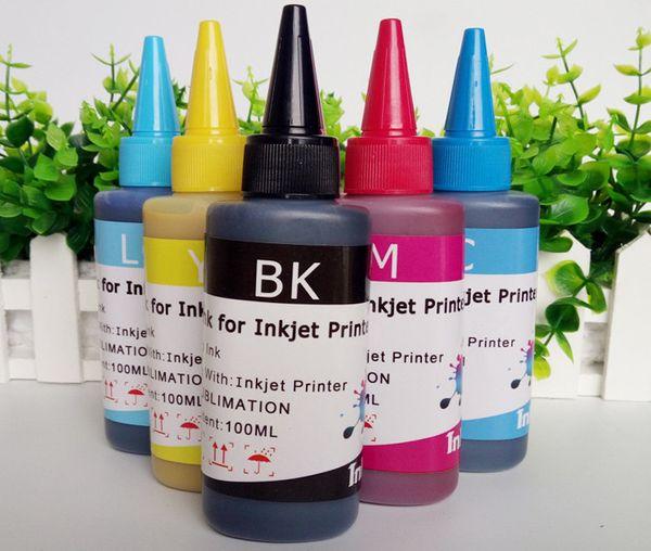 Inktec trasferimento di calore inchiostro Corea trasferimento di calore a sublimazione inchiostro stampa cell phone shell Tazza di trasferimento inchiostro 100 ml per tutte le stampanti Epson