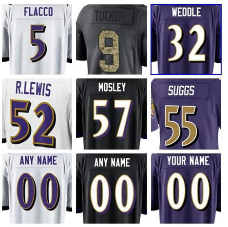 wholesale dealer ed6cc bb76d 2019 2019 Baltimore Terrell Suggs Ravens Jersey CJ Mosley Marlon Humphrey  Soccer Rugby College Retro Rugby American Football Jerseys Stitched From ...