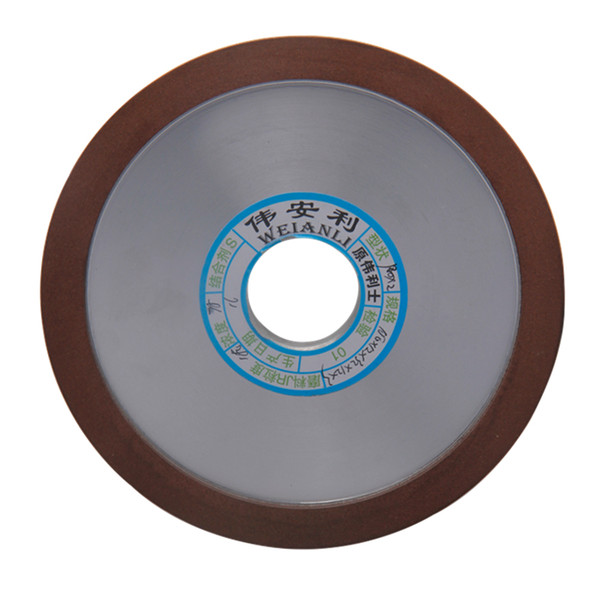 Freeshipping 150mm Diamond Grinding Wheels Grinding Disc 150/180/240/320 Grits Hypotenuse For Carbide Milling Cutter PowerTool