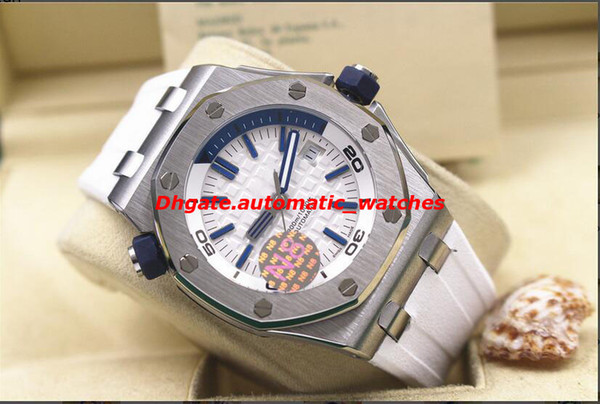 5 Stil Luxus Armbanduhr Taucher ST.OO.A010CA.01 Gummi Armband Automatische Uhr Männer Uhren Hochwertige Neue Ankunft