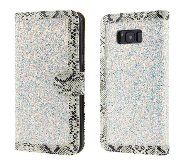 for Samsung J5 J7 Prime J3 Pro J2 J7 S6 S7 Edge S9 Plus Bling Card Slot Leather Wallet Luxury Case With Retail Packaging