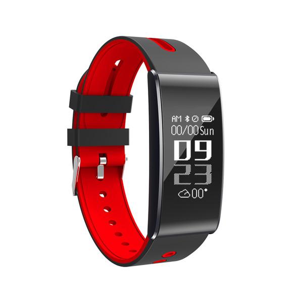 A11 Smartband Bluetooth IP67 Etanche Moniteur de fréquence cardiaque Bracelet intelligent Tracker Fitness pour Ios Android Phone pk fitbits EN STOCK!