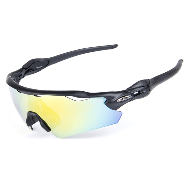 High Quality Sunglasses Hot Polarized Sports Eyewear 100% UV400 Mens Sun Glasses Womens Wind Proof Goggles Cycling Sunglasses with 5 Lenses