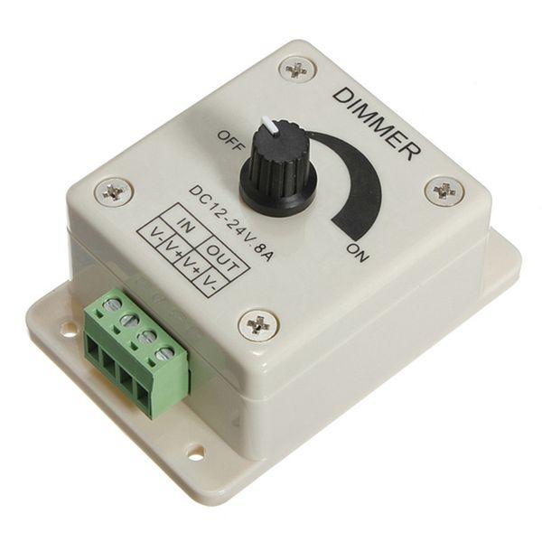 Dimmer Regolatore Luminosit/à 12-24V per Strisce LED Monocolore