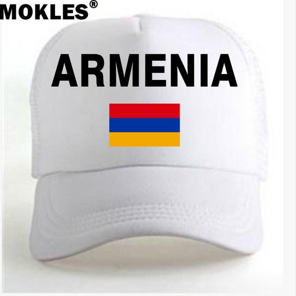 Армения молодежь студенческие шапки бесплатно на заказ имя номер фото красный черный страна Армянский национальный флаг am мужчины повседневная реклама мяч крышка