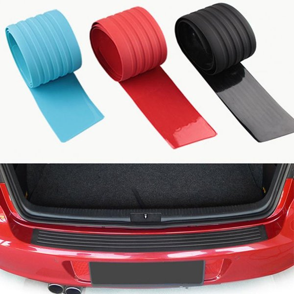 90CM Car Styling Door Sill Guard Bumper Protector Trim Cover Protective Strip
