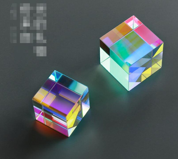 Devil's Castle Cosmic Cube A gift from the light shakes the sound cubes made of artificial crystal ornaments