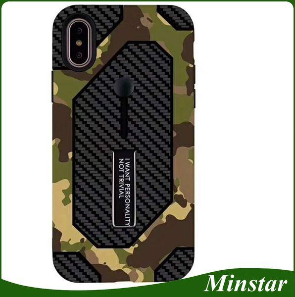 Pequeña funda de camuflaje MOQ para ZTE Z982 Z981 Funda de teléfono móvil modelo caliente para Huawei Mate 20 Lite