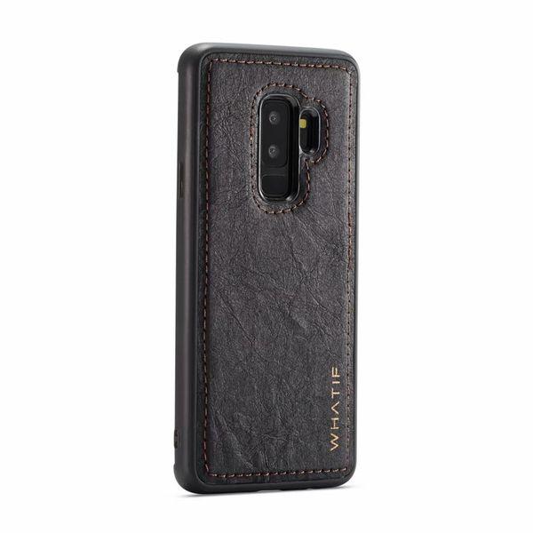 Lüks Case Arka Samsung Galaxy S9 S8 Artı S7 Kenar Koruyucu Telefon Samsung Galaxy Note 8 Için Kraft Kağıt Durumda 9 TPU Kapak