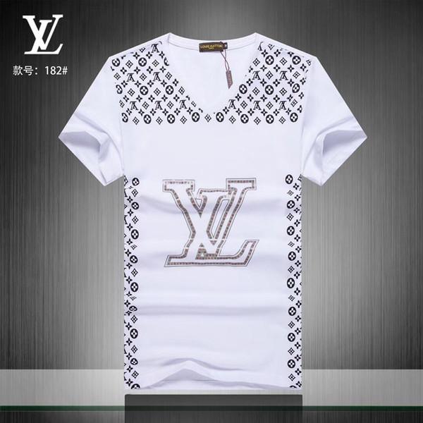 # 0785 Nueva llegada Diseñador de verano Camiseta de hombre Hip Hop de manga corta Tops ajustados Camisetas Camisetas Medusa de moda Hombre Casual Camiseta de niño Camiseta