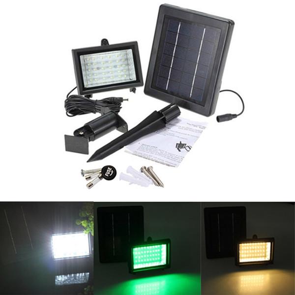 Solarlampen 40 LED Pfad Spot Wandhalterung Outdoor Rasen Licht Solar Strahler Lampe Panel Garten Pool Teich Garten Licht