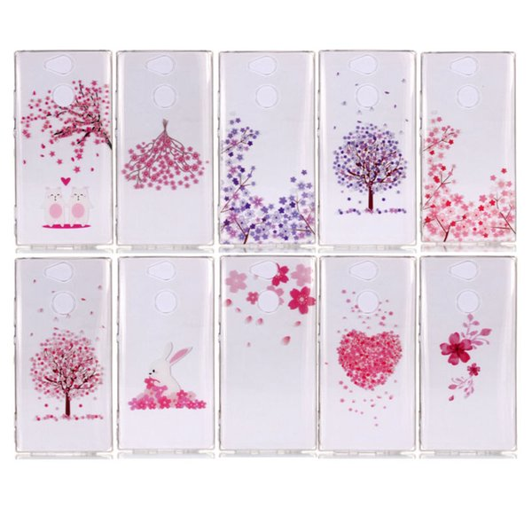 Free Shipping Transparent TPU XS Cell Phone Case for Sony Ericsson XA2 Protective Shell Back Cover