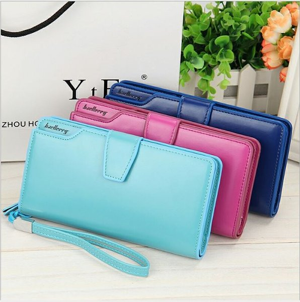 High Quality women's purse fashion wallet women big capacity leather wallet female long clutch women purse New Arrival HOT !