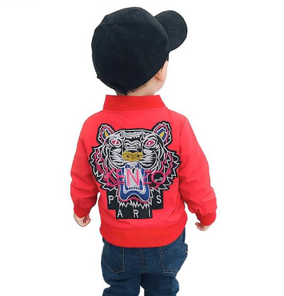 90-130 cm Frühling Kinder Mantel Herbst Kinder Jacke Jungen Oberbekleidung Mäntel Aktive Jungen Windjacke Baby Kleidung Kleidung