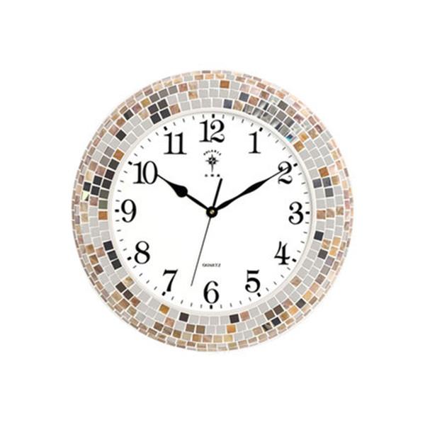 Compre Diseño Moderno Simple Reloj De Pared Silencioso Salón Reloj ...