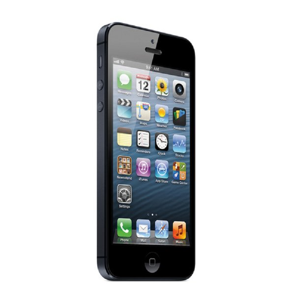 Original Apple iPhone 5 64GB 4.0 inch Retina Screen 1136*640 HD iOS 6.0 3G WCDMA 8.0MP Camera GPS WiFi Refurbished Smartphone