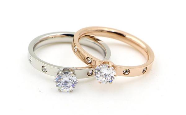 bague or petits diamants