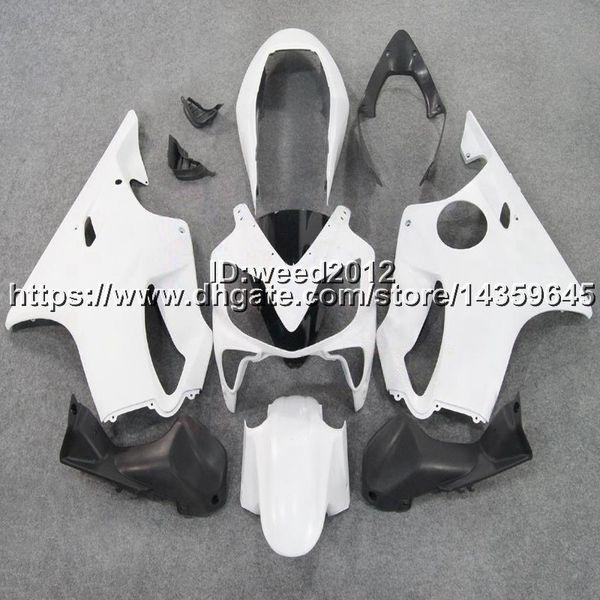 5Gifts+Custom Injection mold white motorcycle hull for HONDA CBR 600F4i 2004 2005 2006 2007 CBR600 F4i 04-07 ABS Fairings body kit