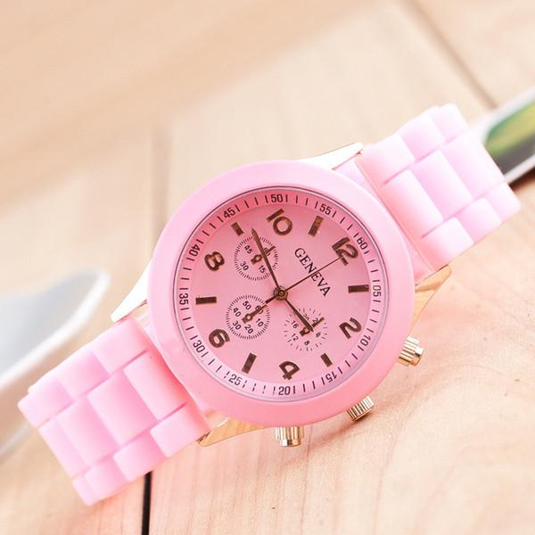 Relogio Femino nouvelles femmes mode vases cadran bande de cuir quartz analogique montres-bracelets W074