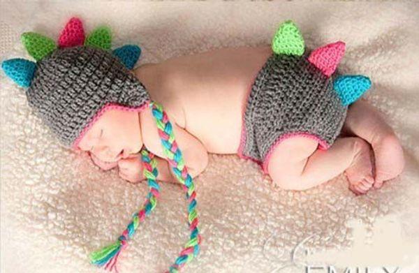 Christmas Gift Dinosaur Kids Cartoon Animal Hat Xmas Cap Newborn Infant Toddler Baby Boy Girl Winter Headwear Children Dino Beanie Cotton
