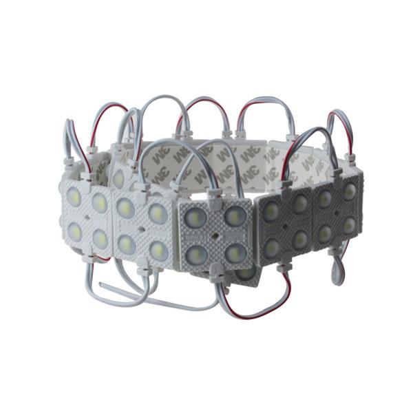 100 teile / los led-module 2 Watt SMD5730 4 LED Modul DC12V weiß wram weiß rot grün blau gelb wasserdicht super heller platz