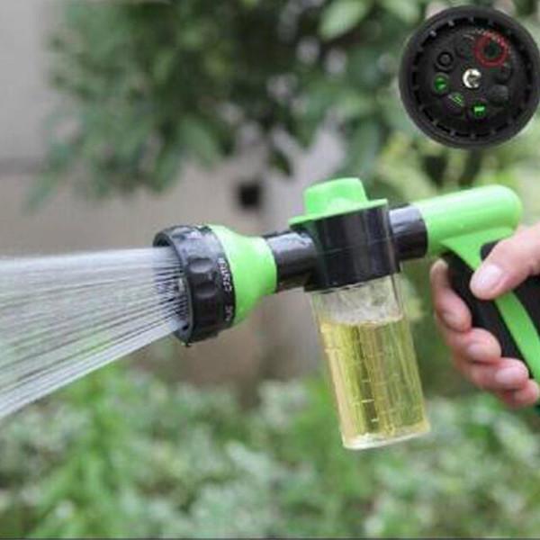 Pistolet à eau automatique multifonctionnel de voiture de voiture Pistolet à eau de machine à laver de nettoyeur à haute pression