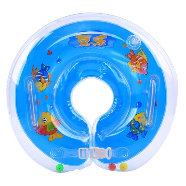 Summer Baby Accessories Neck Float Swim Safety Neck Ring Baby Swimming Infant Circle For Bathing Inflatable 2018 New