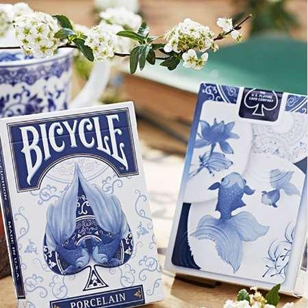 Bicycle Porcelain Playing Cards Original Poker Cards for Magician Collection Card Game