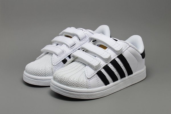 Adidas Superstar scarpe Original White Gold bimba Superstars Sneakers Originals Super Star ragazze ragazzi Sport bambini